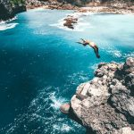 Add a little bit of excitement in your vacation with the Blue Lagoon Cliff Jump