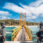 Yellow bridge: The iconic bridge of love in Nusa Lembongan