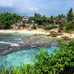 Explore the serene secret beach of Nusa Ceningan